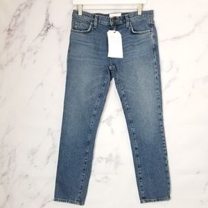 New CURRENT/ELLIOTT The Fling Midrise Jeans
